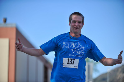 Run For Music. Jan. 27, 2013. Photo by Ian Billings