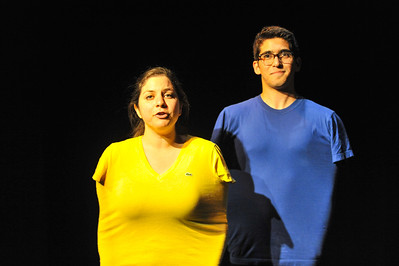Photos from the directing class's spring One Acts. June. 6, 2013. Photo by Ian Billings
