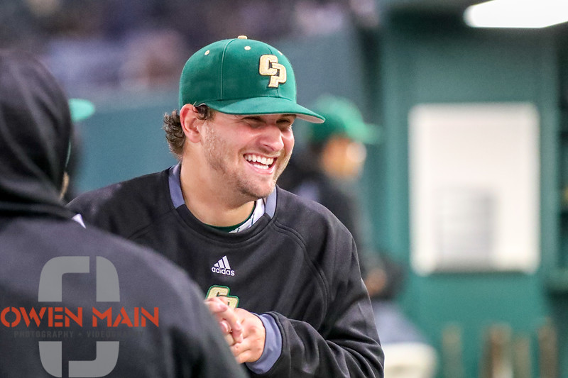 All smiles for the Mustangs as they get the 5-0 win today for the sweep over Dartmouth. Big West play starts next week. #BigWestBaseball #CollegeBaseball #SLO #CalPolyNow #CalPoly