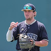 5/20/1810:58:14 AM --- Cal Poly baseball beat rival UCSB in a Big West Conference game at Baggett Stadium in San Luis Obispo, CA on May 19, 2018. <br /> <br /> Photo by Owen Main