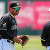 5/20/1810:59:11 AM --- Cal Poly baseball beat rival UCSB in a Big West Conference game at Baggett Stadium in San Luis Obispo, CA on May 19, 2018. <br /> <br /> Photo by Owen Main