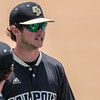 5/20/1811:03:34 AM --- Cal Poly baseball beat rival UCSB in a Big West Conference game at Baggett Stadium in San Luis Obispo, CA on May 19, 2018. <br /> <br /> Photo by Owen Main