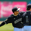 5/20/1810:59:14 AM --- Cal Poly baseball beat rival UCSB in a Big West Conference game at Baggett Stadium in San Luis Obispo, CA on May 19, 2018. <br /> <br /> Photo by Owen Main