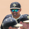 5/20/1811:04:04 AM --- Cal Poly baseball beat rival UCSB in a Big West Conference game at Baggett Stadium in San Luis Obispo, CA on May 19, 2018. <br /> <br /> Photo by Owen Main