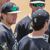 5/20/1811:04:00 AM --- Cal Poly baseball beat rival UCSB in a Big West Conference game at Baggett Stadium in San Luis Obispo, CA on May 19, 2018. <br /> <br /> Photo by Owen Main