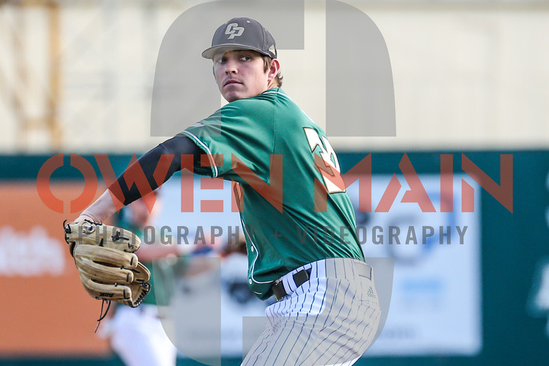 Cal Poly Baseball hosted Cal in their 2019 home opener. Photo by Owen Main 2/23/19