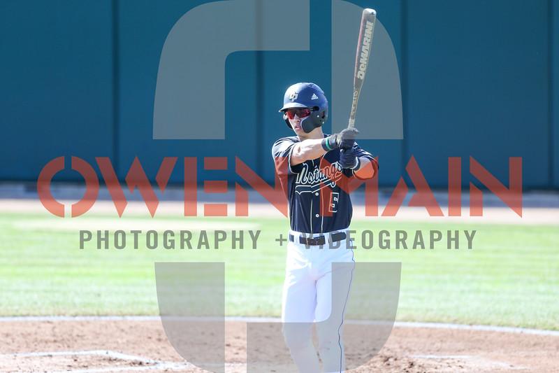 Cal Poly Baseball hosted Cal. Photo by Owen Main 2/24/19