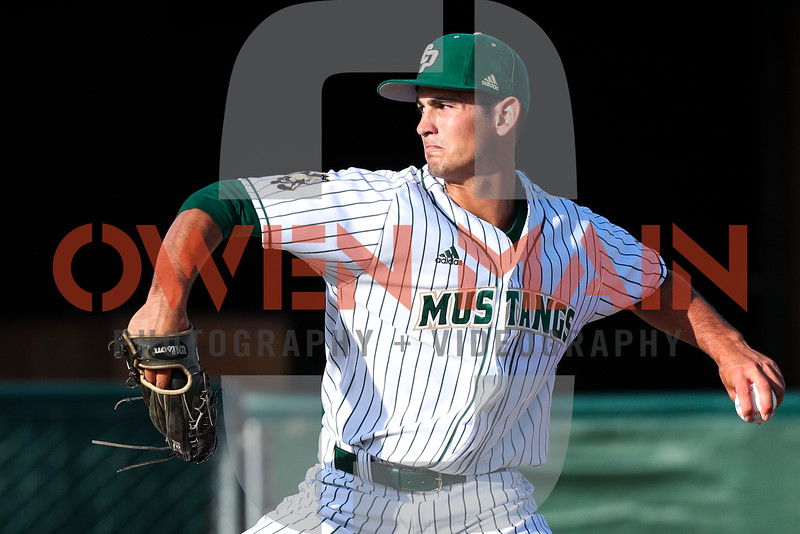 Cal Poly Baseball hosted UC Riverside at Baggett Stadium in San Luis Obispo, CA. Photo by Owen Main 5/17/19