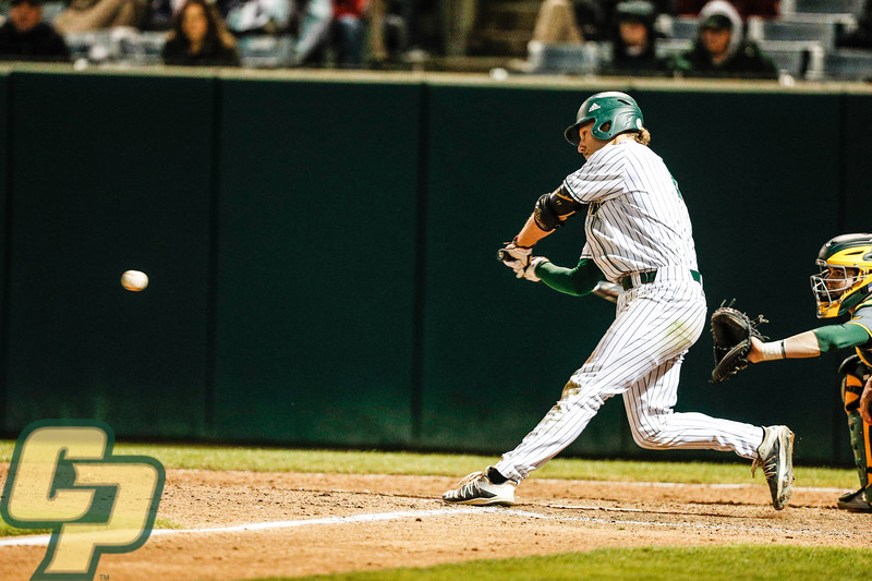 Cal Poly baseball hosted Baylor at Baggett Stadium in San Luis Obispo, CA. Photo by Owen Main 3/6/20