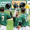 Cal Poly baseball hosted Michigan at Baggett Stadium in San Luis Obispo, CA. Photo by Owen Main 2/29/20