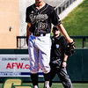 Cal Poly played Vanderbilt at the MLB4 Tournament at Salt River Flats in Scottsdale, AZ.  Photo by Owen Main 2/16/20