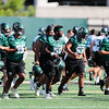 Second day of 2018 Cal Poly Football camp 8/4/188:25:04 AM <br /> <br /> Photo by Owen Main