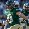 Cal Poly played UC Davis for the Battle for the Golden Horseshoe in San Luis Obispo, CA. Photo by Owen Main. 10/20/18