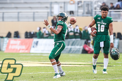 Cal Poly hosted Southern Utah at Alex G. Spanos Stadium for the season's final game. Photo by Owen Main. 11/17/18