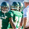 Cal Poly football hosted Weber State at Alex G. Spanos Stadium for a non-conference game. 9/8/18<br /> <br /> Photo by Owen Main