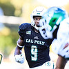 Cal Poly Football Hosted Sacramento State at Alex G. Spanos Stadium in San Luis Obispo, CA. Photo by Owen Main 10/26/19