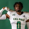 Cal Poly Athletics Photo Shoot Fall 2021 8/7/21<br /> <br /> Football, Dylan Wyatt , 0