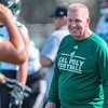 Second day of 2018 Cal Poly Football camp 8/4/188:21:56 AM <br /> <br /> Photo by Owen Main