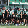 Second day of 2018 Cal Poly Football camp 8/4/188:25:03 AM <br /> <br /> Photo by Owen Main