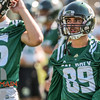 Second day of 2018 Cal Poly Football camp 8/4/188:19:30 AM <br /> <br /> Photo by Owen Main