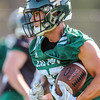 Second day of 2018 Cal Poly Football camp 8/4/188:26:14 AM <br /> <br /> Photo by Owen Main