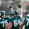 Second day of 2018 Cal Poly Football camp 8/4/188:20:10 AM <br /> <br /> Photo by Owen Main
