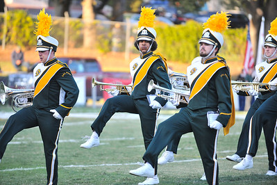 The Pride of the Pacific, the Mustang Marching Band during a game vs Weber State. October 12, 2013. Photo by Ian Billings