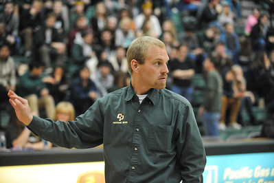 Pep Band D during a Cal Poly Men's Basketball game vs Santa Clara. Dec. 7, 2013. Photo by Ian Billings