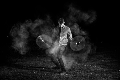 Cymbals and Powder. Dec. 13, 2013. Photo by Ian Billings