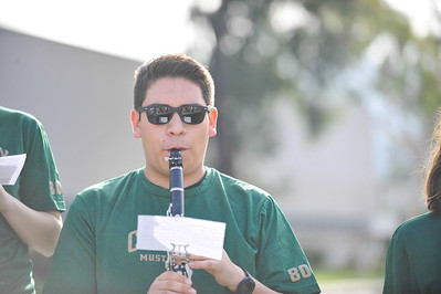 Scenes from the second annual Run for Music; Run For Music is put on by Iota Pi, the Cal Poly chapter of the National Honorary Band Fraternity Kappa Kappa Psi. Jan. 26, 2014. Photo by Ian Billings