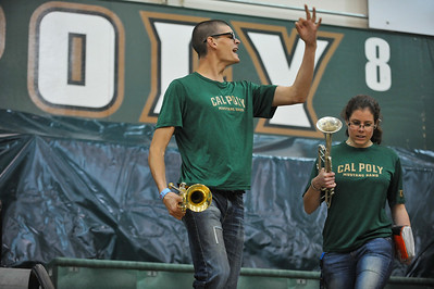 Cal Poly Women's Basketball takes on New Mexico State. Nov. 18, 2013. Photo by Joseph Pack