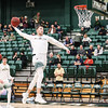 Cal Poly men's basketball hosted Cal State Fullerton at Mott Athletics Center. 1/26/2019 Photo By Owen Main