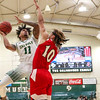 Cal Poly Men's Basketball hosted Holy Names at Mott Athletics Center. Photo by Owen Main 1/4/19