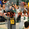 Cal Poly Men's Basketball hosted Long Beach State. Photo by Owen Main 2/9/19