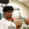 Cal Poly Men's Basketball hosted Menlo College for their season opener at Mott Athletics Center. Photo by Owen Main. 11/7/18