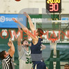 Cal Poly men's basketball hosted UC Davis in San Luis Obispo, CA. Photo by Owen Main 2/7/19