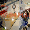 Cal Poly men's basketball hosted UC Riverside in a Big West game at Mott Athletics Center.  Photo by Owen Main 1/23/19