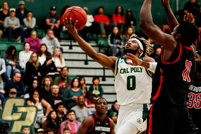 Cal Poly Wrestling faced Northern Illinois.  Photo by Owen Main 1/11/20