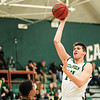 Cal Poly Men's Basketball hosted Siena at Mott Athletics Center. Photo by Owen Main 12/7/19