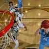 Cal Poly men's basketball hosted San Diego at Mott Athletics Center in San Luis Obispo, CA