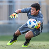 Cal Poly Men's Soccer opened their season at Alex G. Spanos Stadium against Fresno Pacific. 8/24/185:39:36 PM <br /> <br /> Photo by Owen Main