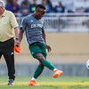Cal Poly Men's Soccer opened their season at Alex G. Spanos Stadium against Fresno Pacific. 8/24/185:38:17 PM <br /> <br /> Photo by Owen Main