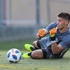 Cal Poly Men's Soccer opened their season at Alex G. Spanos Stadium against Fresno Pacific. 8/24/185:38:44 PM <br /> <br /> Photo by Owen Main
