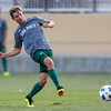 Cal Poly Men's Soccer opened their season at Alex G. Spanos Stadium against Fresno Pacific. 8/24/185:42:36 PM <br /> <br /> Photo by Owen Main