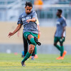 Cal Poly Men's Soccer opened their season at Alex G. Spanos Stadium against Fresno Pacific. 8/24/185:44:16 PM <br /> <br /> Photo by Owen Main