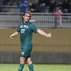 Cal Poly Men's Soccer played Sacramento State at Alex G. Spanos Stadium. Photo by Owen Main. 10/17/18