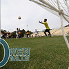 5/5/185:02:46 PM --- Cal Poly Men's Soccer played a spring soccer game against Taft College at Alex G. Spanos Stadium in San Luis Obispo, CA<br /> <br /> Photo by Owen Main / Photos.Fansmanship.com