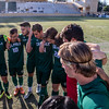 Cal Poly Men's Soccer hosted UC Irvine on Senior Night in San Luis Obispo, CA. Photo by Owen Main. 10/21/18