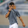 Cal Poly Men's Soccer hosted UCSB for the Blue-Green Rivalry game in a non-conference match at Alex G. Spanos Stadium 9/30/18<br /> <br /> Photo by Owen Main