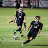 Cal Poly men's soccer hosted UC Davis in San Luis Obispo, CA. Photo by Owen Main 10/9/19
